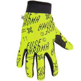 FUSE Chroma Alias Gloves, neon yellow
